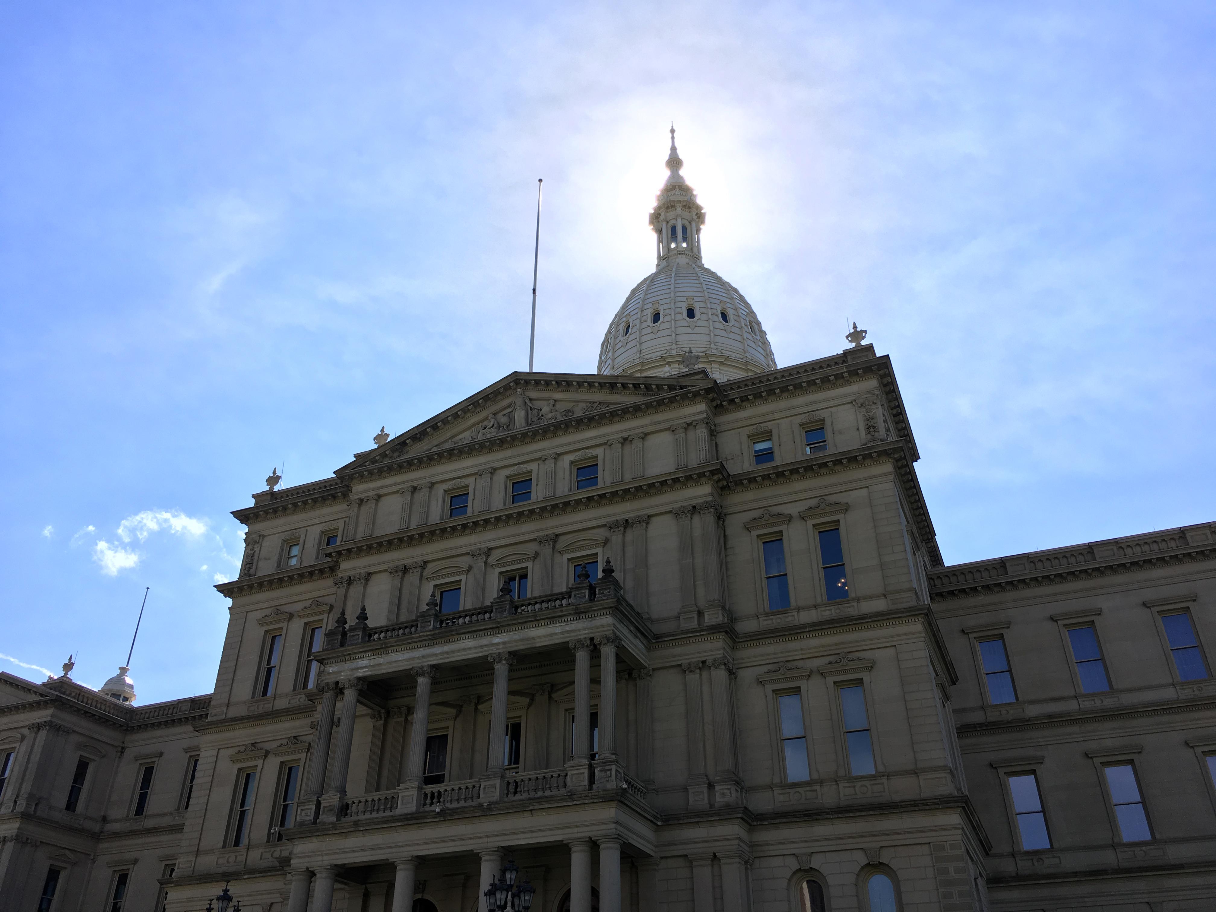 Lansing MI state capitol